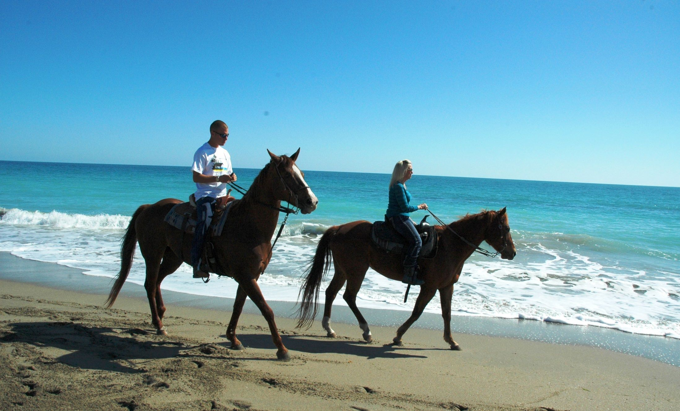 Horseback_Riding_on_the_Beach_Fort_Pierce - pga village